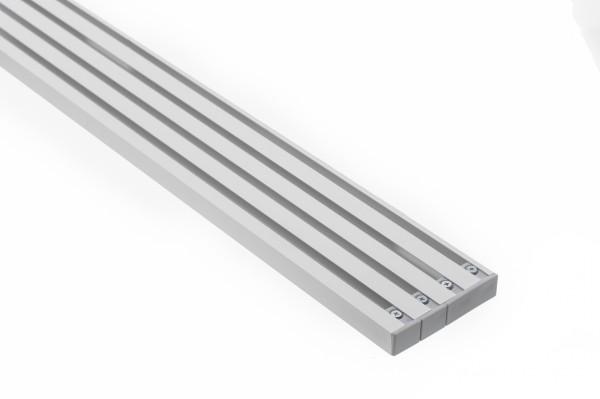 Vorhangschiene Aluminium RIANO 4-läufig
