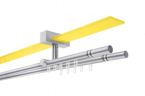 Gardinenstange NEXUS O Decke Innenlauf 2-läufig