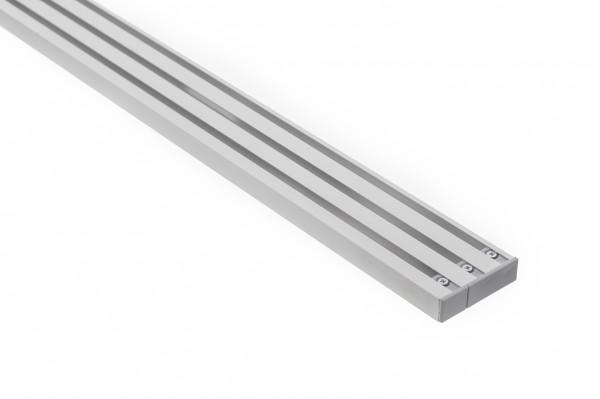 Vorhangschiene Aluminium RIANO 3-läufig