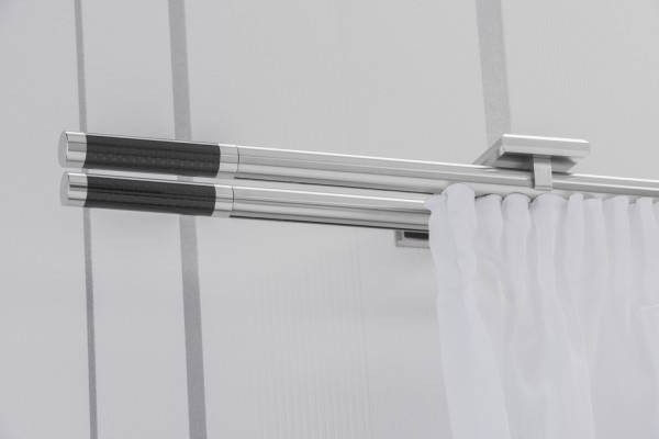 Gardinenstange ERKO C Innenlauf 2-läufig
