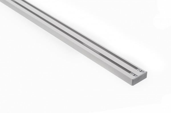 Vorhangschiene Aluminium RIANO 2-läufig