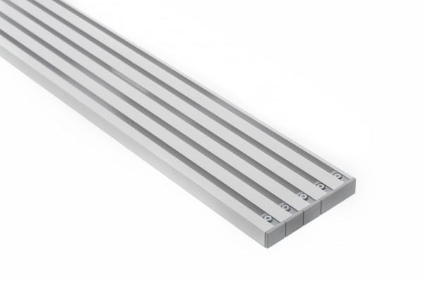 Vorhangschiene Aluminium RIANO 5-läufig