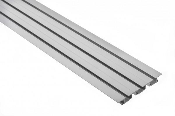 Vorhangschiene Aluminium TARA 3-läufig