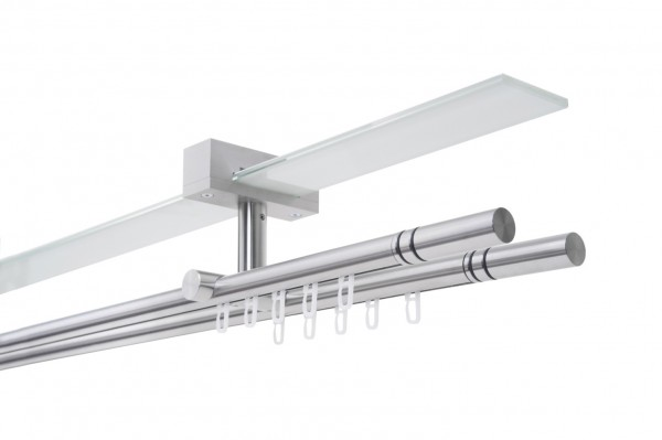 Gardinenstange NEXUS W Decke Innenlauf 2-läufig