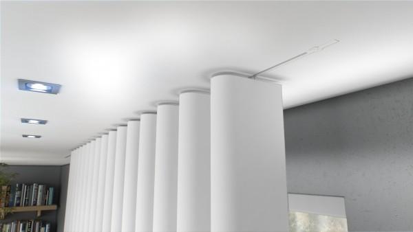 NEU Unsichtbare Vorhangschiene Invisible 200cm