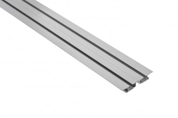 Vorhangschiene Aluminium TARA 2-läufig
