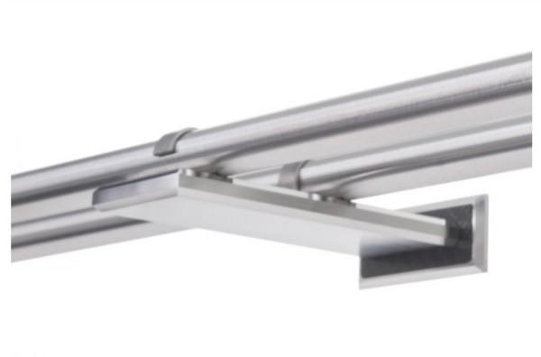 Wandhalter ERKO C 2-läufig für Ø18mm